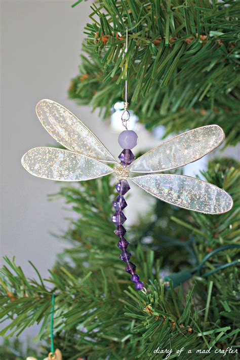 diy dragonfly charm craft ideas   diy christmas