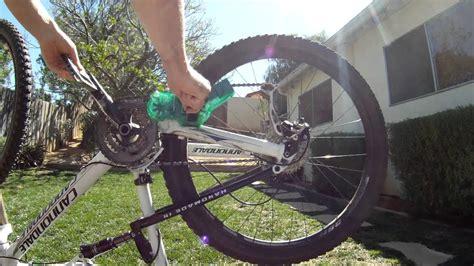 bike chain clean mountain cleaner line finish tool