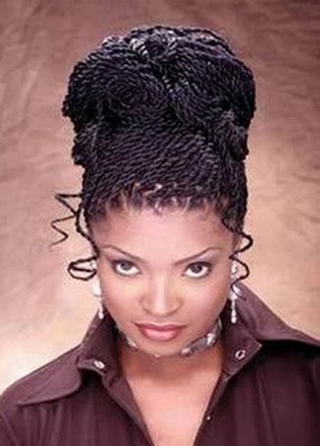 Updo Twist Hairstyles American by Twist Hairstyles For Black
