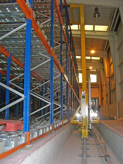 automated warehouses pallet racking  metal shelving
