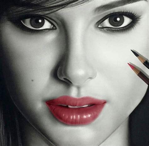 realistic woman drawing  aymanarts