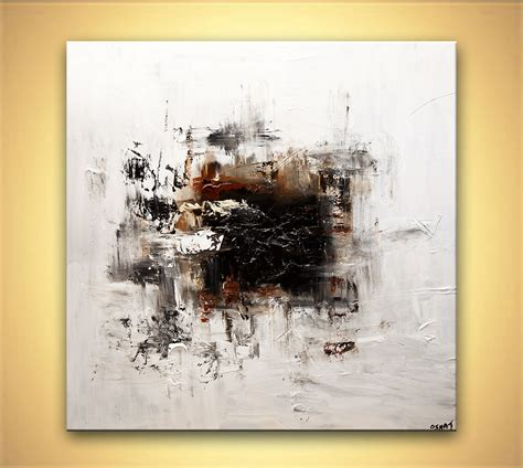 painting white abstract modern abstract painting home decor 7788