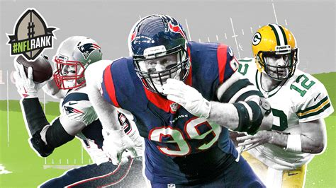 nflrank   nfl  greatest players jj watt