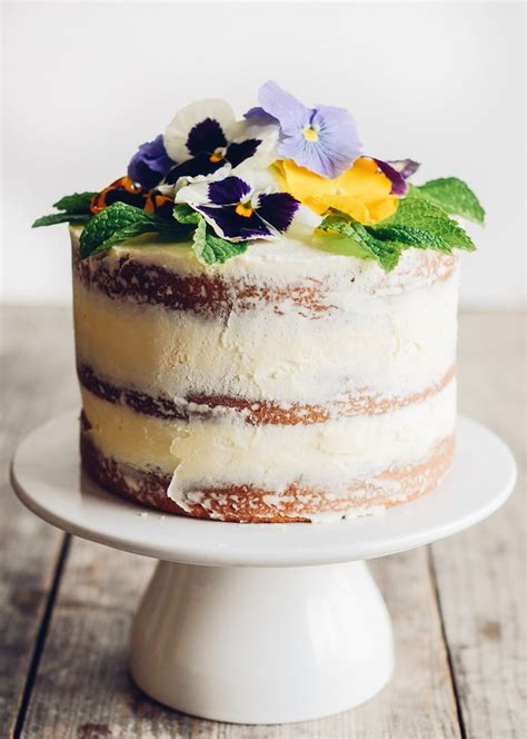 Cake Decorating With Real Flowers - edible flower cakes let you enjoy beautiful blooms in