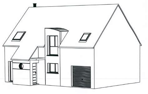 Coloriage, Une Maison