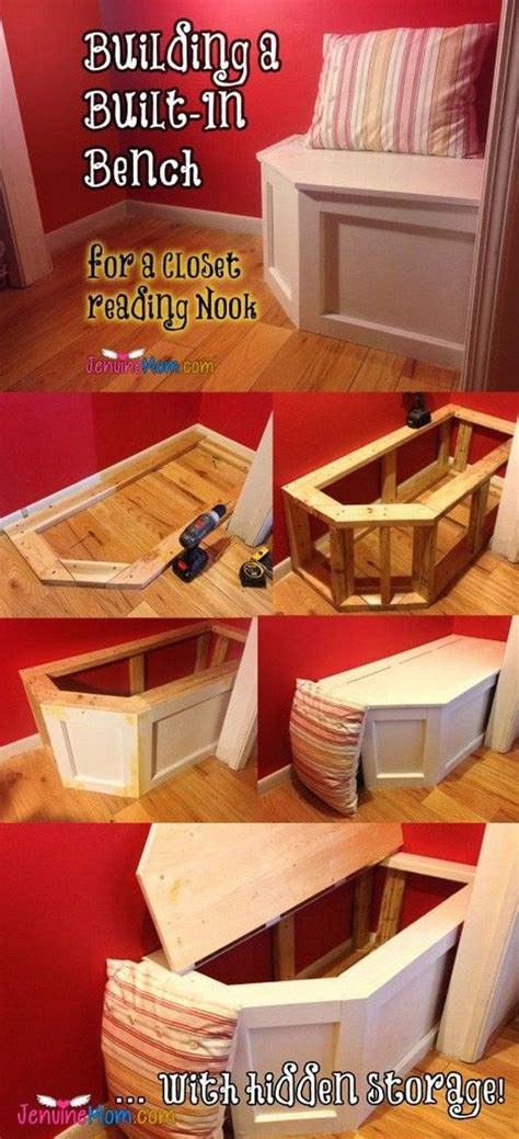 creative hidden storage ideas  small spaces