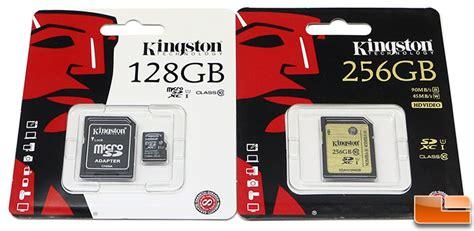 kingston microsdhc high capacity uhs i class 10 45mbs 16gb kingston class 10 uhs i sdxc 256gb and microsd 128gb