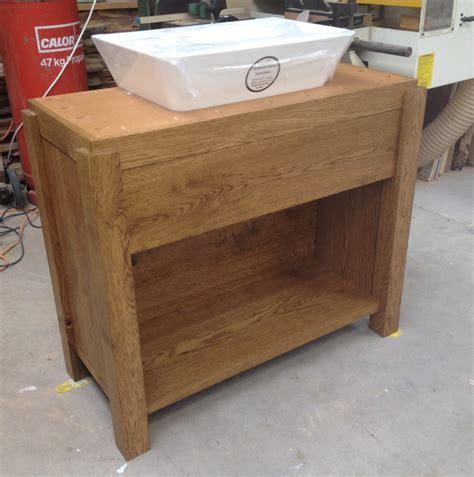 Oak Vanity by Bespoke Bathroom Vanity Units Oak And Painted Dc Furniture