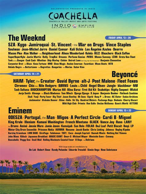 the fall of new peking spill news coachella announces 2018 lineup with beyoncé