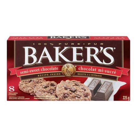 semi sweet chocolate baker s semi sweet chocolate walmart ca