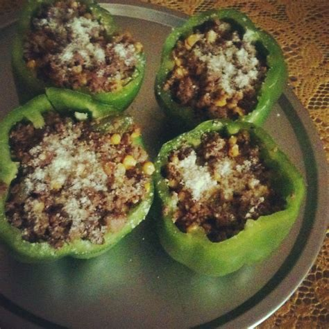 Being unable to produce enough insulin. Ground turkey stuffed bell peppers low carb and diabetic ...