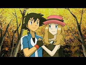 Pokemon XY - Ash and Serena Love Moments - Kiss,Hug ...