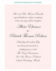 affordable letterpress wedding invitations tampa bay With wedding invitation wording not in church