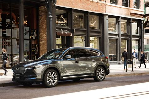 It has a ground clearance of 205 mm and dimensions is 4900 mm l x 1840 mm w x 1730 mm h. Brand-New Mazda CX-8 diesel joins Mazda Australia family