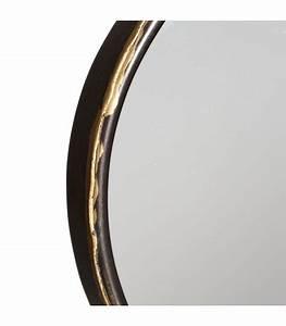 Miroir à Poser : miroir d coratif poser sur pied rond or antique ~ Teatrodelosmanantiales.com Idées de Décoration