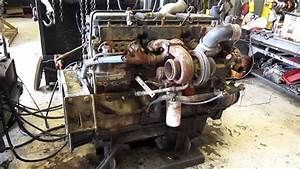 1994 Cummins N14 Celect Diesel Engine Running