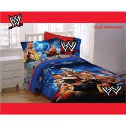wwe wrestling chons double bed comforter padded duvet