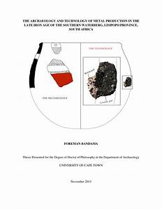 (PDF) The Archaeology and Technology of Metal...