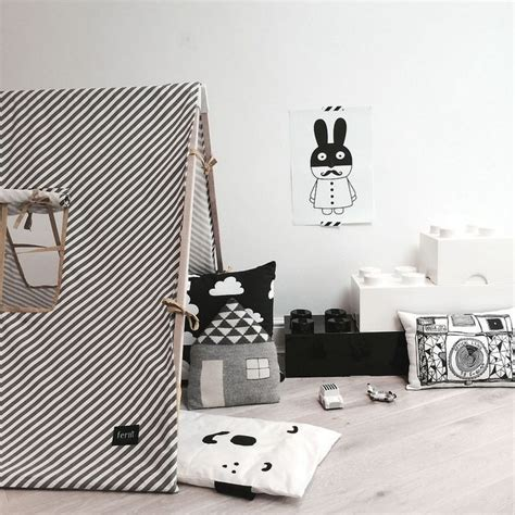 chambre noir blanc déco chambre noir blanc