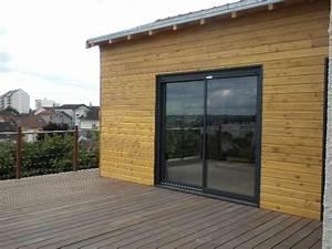 Extension Ossature Bois : maisons et extensions ossature bois kaori constructions ~ Melissatoandfro.com Idées de Décoration