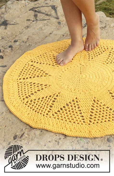 17 meilleures id 233 es 224 propos de tapis au crochet sur mandala au crochet trapillo et