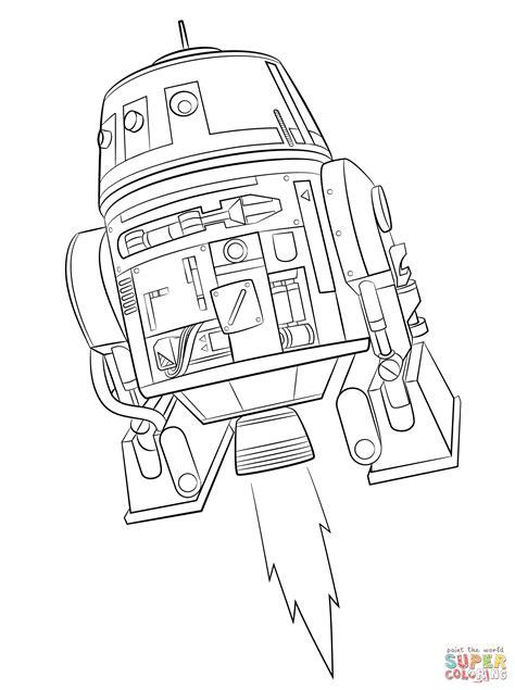 Kolorowanka Gwiezdne Wojny Rebelianci Chopper