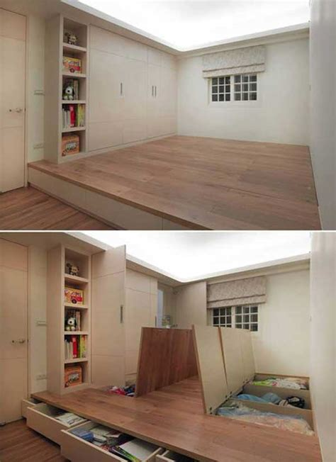 creative clever space saving ideas   enlargen  space