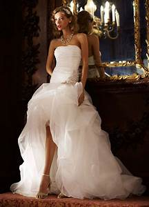 trend alert high low wedding dresses for the bride With urban wedding dresses