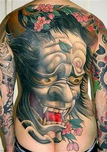 Japanese Hannya Mask Tattoos | Tattoo Designs Picture Gallery