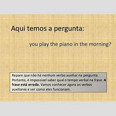 Lesson 2 Auxiliary Verb