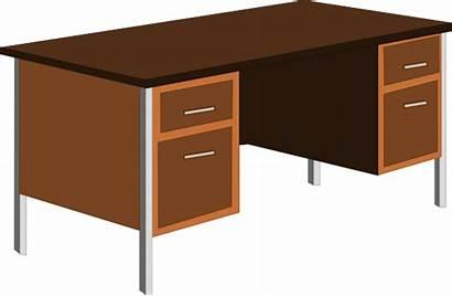 Clipart Teacher Desk Table Cliparts Clip Library
