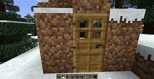 Smallest All Essential Snow Camouflage House Minecraft Project