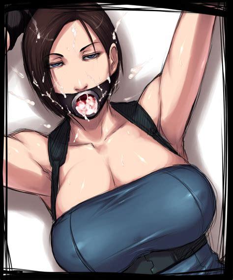 Jill Valentine Resident Evil And Resident Evil 3 Drawn
