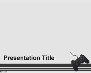 game controller powerpoint template With video game powerpoint template