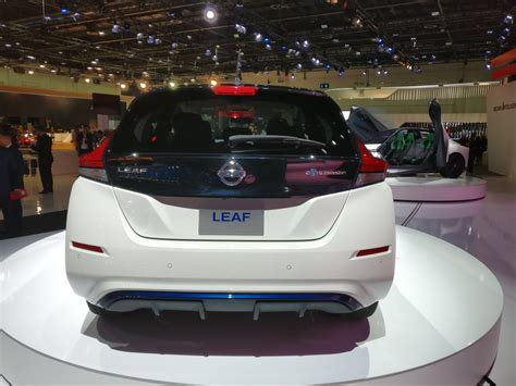 2018 Nissan Leaf At The Dubai International Motor Show
