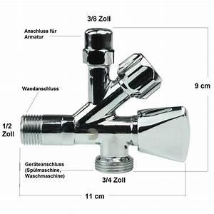 Kombi Eckventil Spülmaschine : wasseranschluss kuche spulmaschine und waschmaschine ~ Watch28wear.com Haus und Dekorationen