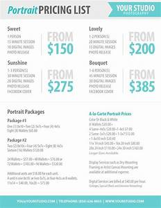 photography package pricing photographer price list With typical wedding photography packages