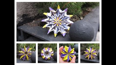 Origami Fireworks Magic Morphing Toy How Fold Paper