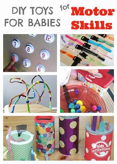Toys Diy Babies Homemade Activities Motor Play