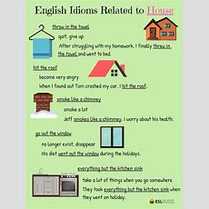 Common Idioms About The House And Home In English Idioms