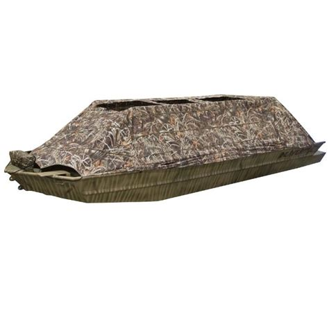 Beavertail Boat Blind Top by Beavertail 1400 Boat Blind Canadian Waterfowl Supplies