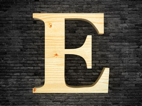 lettre cuisine en bois lettre alphabet en bois e lettres décoratives