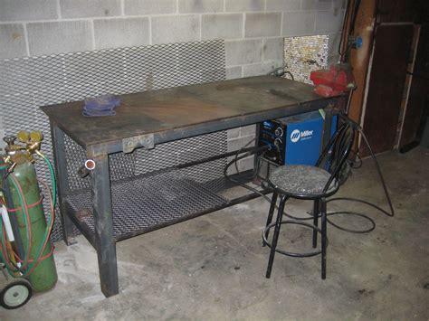 diy welding table plans  ideas   rocking
