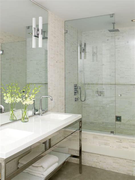 modern ensuite industrial bathroom toronto by
