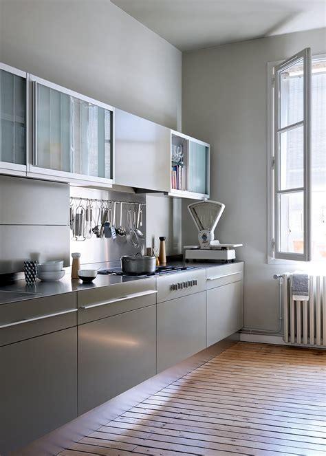 aménagement cuisine en longueur Marie Claire