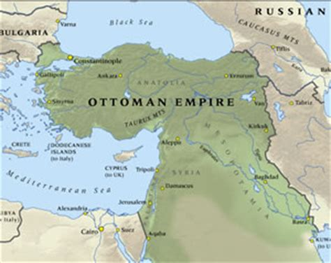 Ottoman Empire 1915 by New Zealand And The World War Ww100 New Zealand