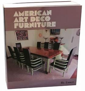 Designer Bottles American Art Deco Furniture By Ric Emmett Ltd Edition Book