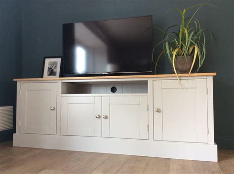 Tv Unit And Sideboard by 6ft Solid Pine Oak Tv Cabinet Nest At Number 20