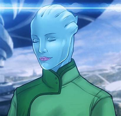Asari Mass Effect Animation Eromaxi Deviantart Newgrounds