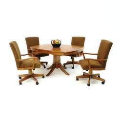 casual dining chairs with casters astat co